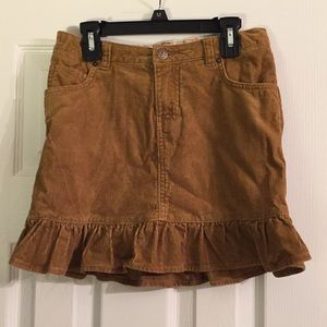 Lands End Corduroy Skirt. Size 10